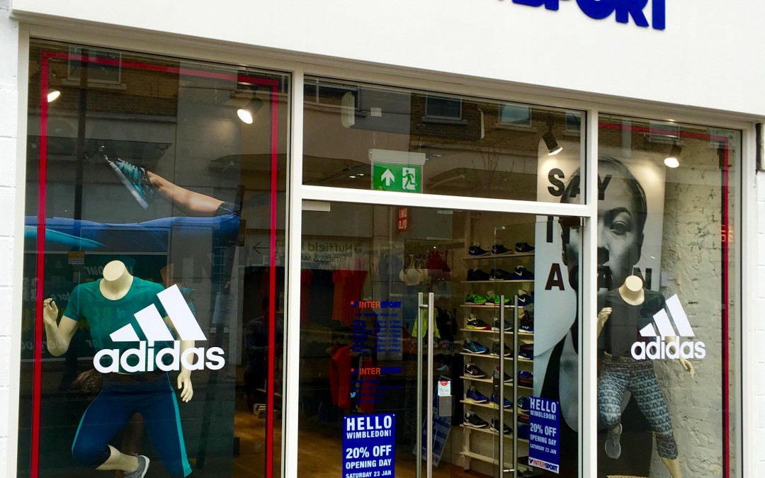 Intersport Wimbledon – our nearest client